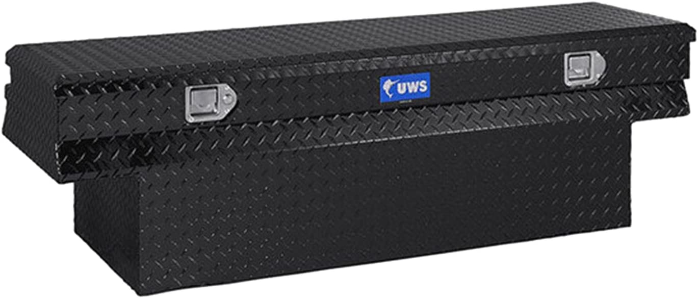 UWS TBC-30-BLK Black 30 Standard Chest with Beveled Insulated Lid