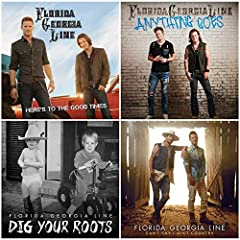 Albums Included:  Here's to the Good Times (2012) Anything Goes (2014) Dig Your Roots (2016) Can't Say I Ain't Country (2019)  Songs Included:  Cruise Round Here Get Your Shine On Here's to the Good Times It'z Just What We Do Stay Hell Raisin...