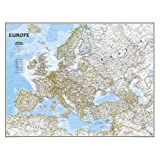 Europe Classic, tubed Wall Maps Continents: NG.PC620070 (Reference - Continents)