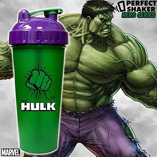 PerfectShaker HULK Blender Shaker Cup Bottle LARGE 28 oz SUPER HERO MIXER 800ml#BH4151Y G154GHRED306633