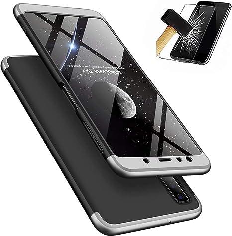 Funda Samsung Galaxy A9 2018 + Vidrio Templado Lanpangzi 360°Caja ...
