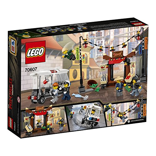 Amazon.com: LEGO Ninjago Movie City Chase 70607 Building Kit (233 ...