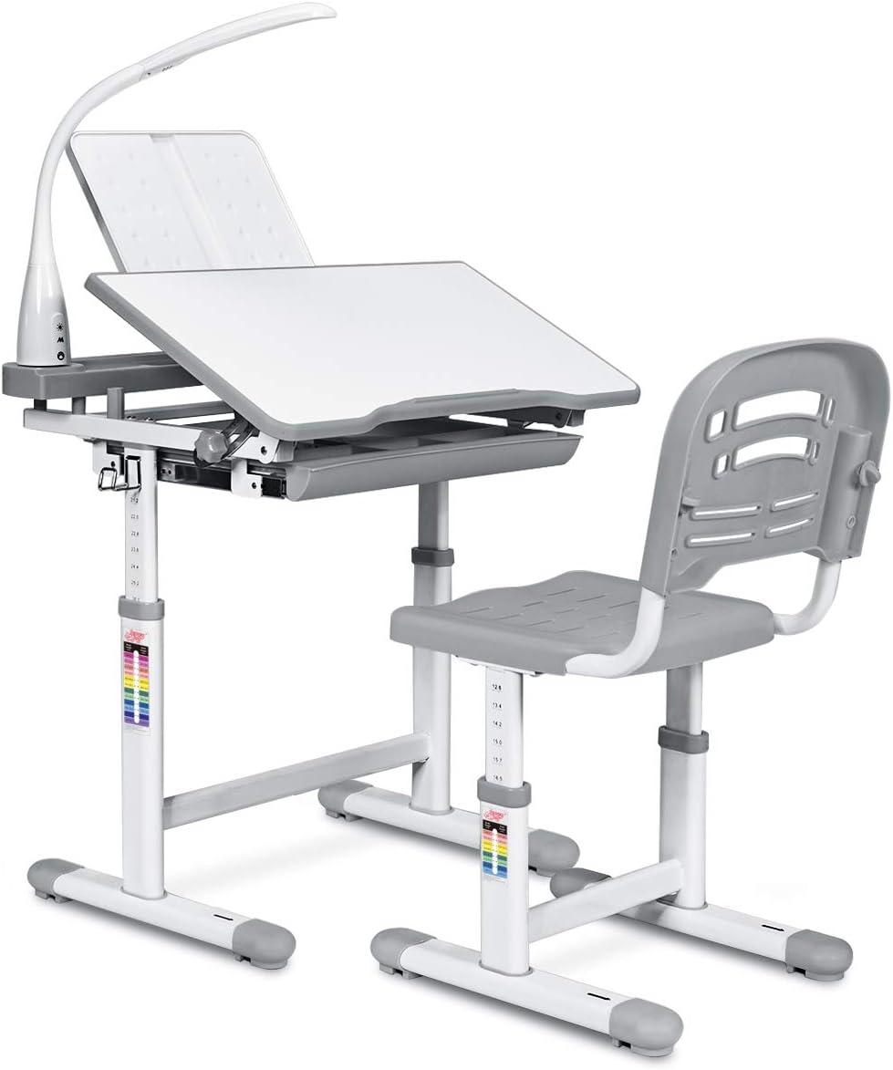 正确矫正坐姿,可升降儿童学习桌椅套装