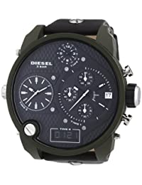 Diesel Gents Green Super Bad Ass Stainless Steel Watch
