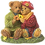 Boyds Bears Resin HAWTHORNE AND WILLOW...FALL IN LOVE 4044567 Autumn