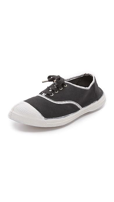 Tennis Bensimon Shinnypiping 8016 y Carbono, Color Plateado: Amazon.es: Zapatos y complementos