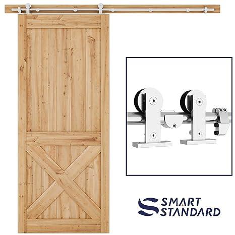 Amazon 66ft Heavy Duty Sturdy Sliding Barn Door Hardware Kit