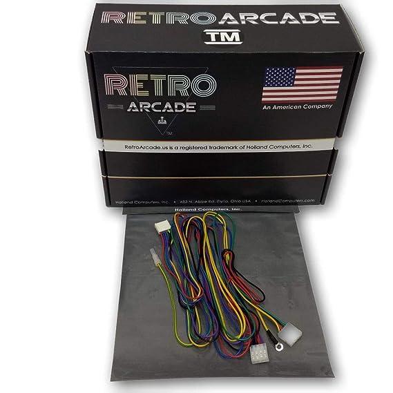 Amazon com: retroarcade us ra-Wire-Harness-tb4 Jamma
