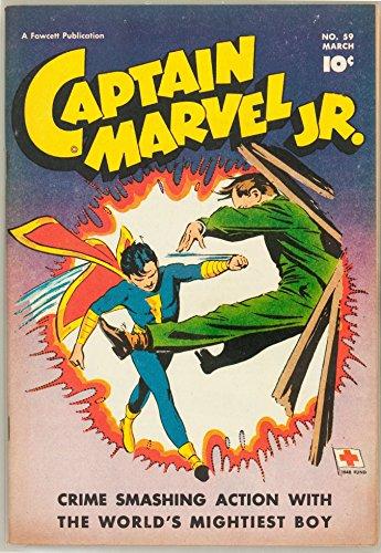 Captain Marvel JR (Old Top Comics)