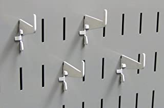 product image for Wall Control Pegboard Medium 1-7/8in Slotted Hook Pack - Slotted Metal Pegboard Hooks for Wall Control Pegboard and Slotted Tool Board – White