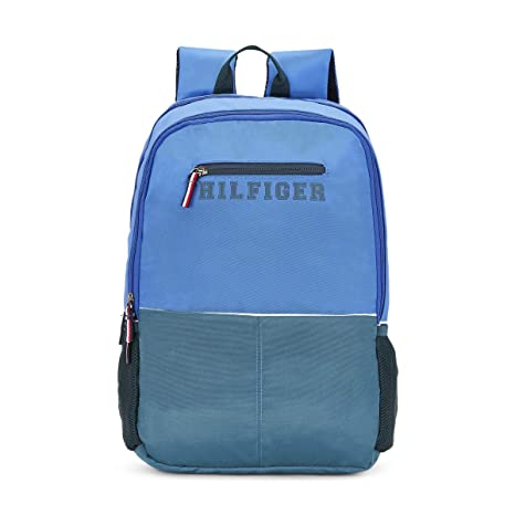 6e673b0220e Tommy Hilfiger Light Blue Casual Backpack (TH/BTSR24/CAVE): Amazon ...