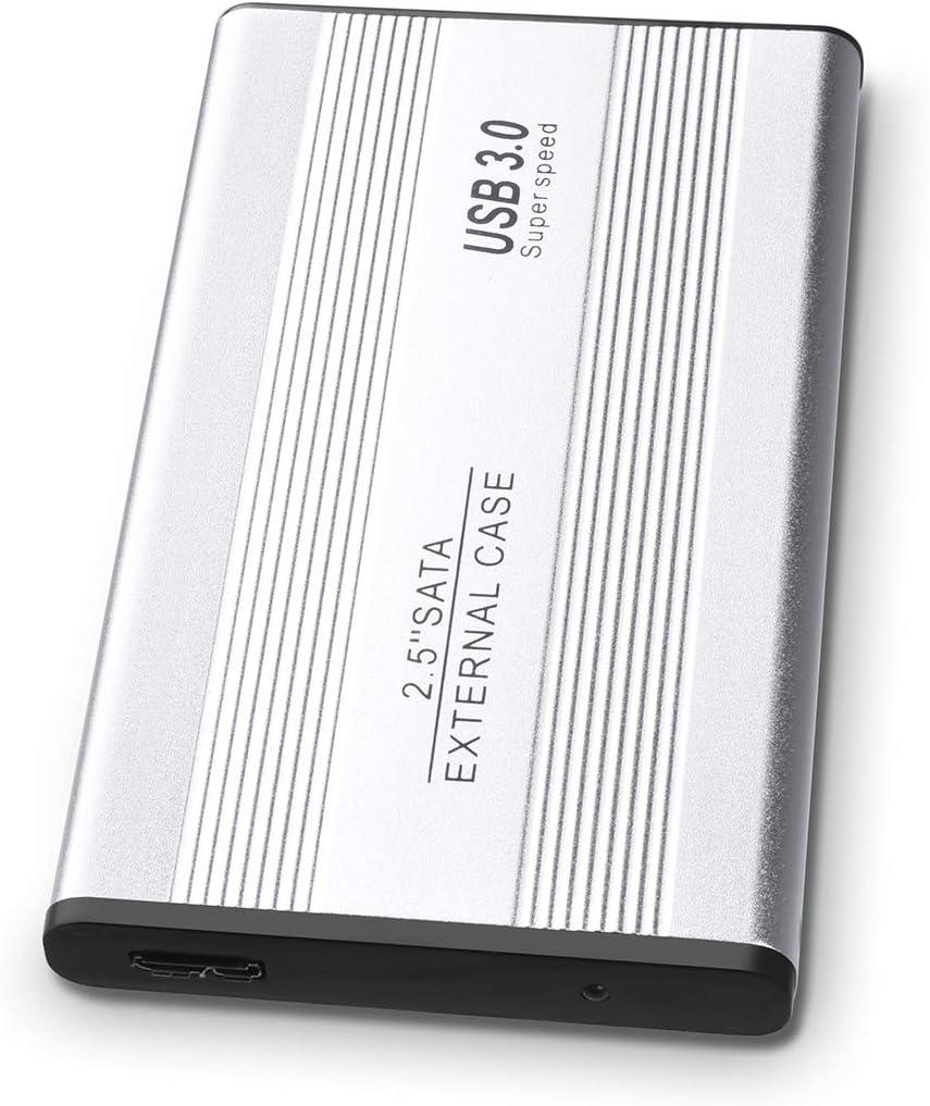 2to, Noir Apple,Xbox One et PS4 YOOSUN Disque Dur Externe 2to USB 3.1 pour Mac,PC,Windows