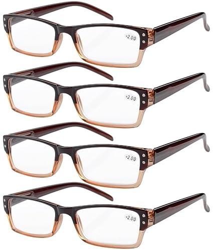 Primavera cerniera di lettura di plastica occhiali da sole Lettori +0.5 iV78vQ