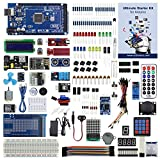 arduino mega starter kit - UCTRONICS Ultimate Starter Kit for Arduino with Instruction Booklet, MEGA 2560 R3, ESP8266 Module, 1602 LCD, NE555 Timer, RTC Module, DHT11 Temp & Humi Sensor, Water Lever Sensor, Sound Sensor Module