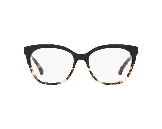 Amazon.com: Eyeglasses Emporio Armani EA 3136 5698 Top Black ...