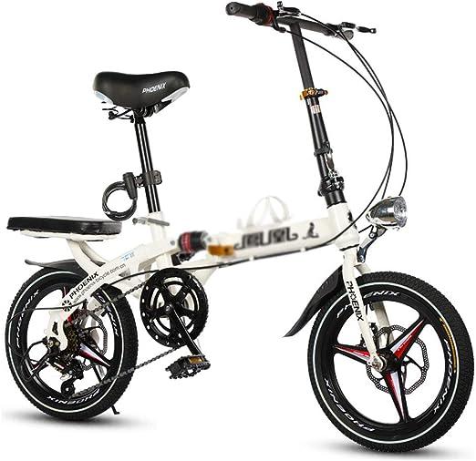 Paseo Bicicleta Plegable Bicicleta Unisex 16 Pulgadas 20 Pulgadas ...