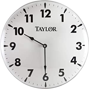 Taylor Precision Products Patio Clock (18-Inch)