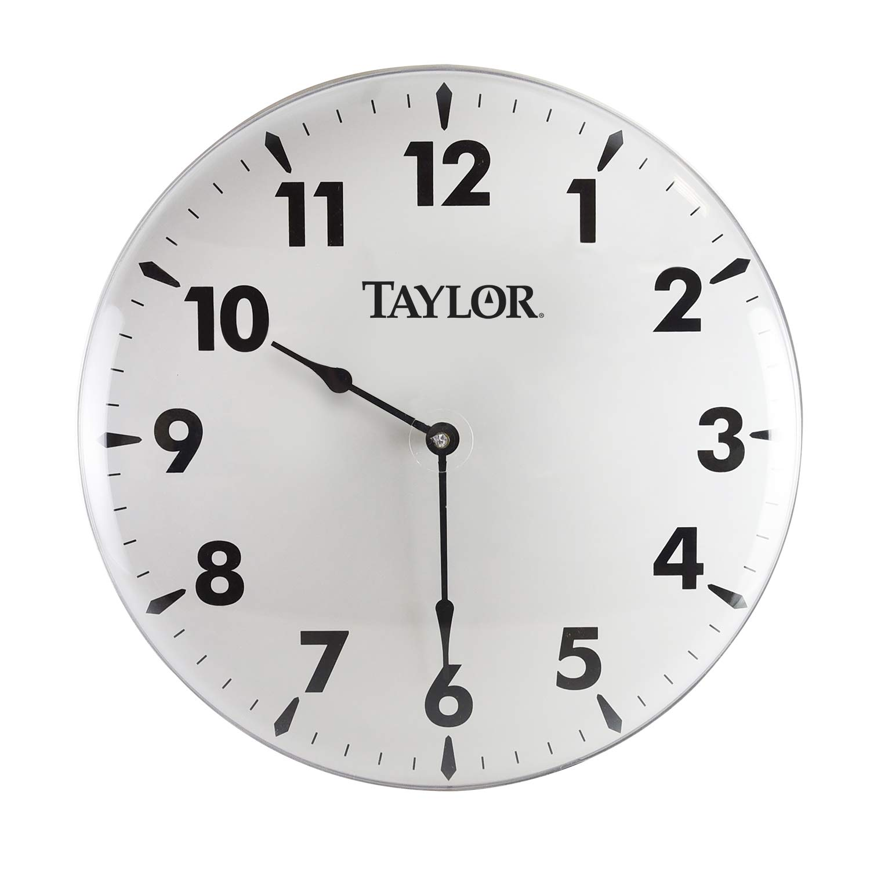 Taylor Precision Products Patio Clock