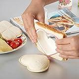 Huayang Partei Heim Frühstück DIY Ausstecher Herz Form Sandwich Toastbrot Form Hersteller