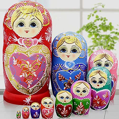 The 10 best santa nesting dolls 10 piece