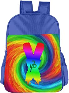 Amazon.com | Jake Paul Rainbow Logo Kids School Backpack ...