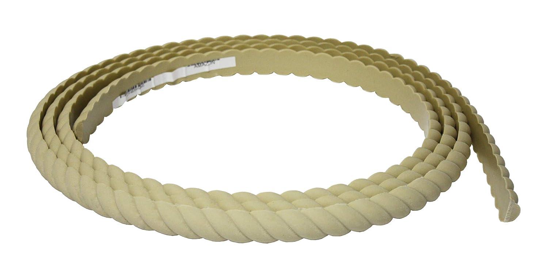 Flexible Moulding - Flexible Rope Moulding - DE918-7/16 X 1 - 8' Length - Flexible Trim Resinart East Inc C-DE918-S-S8/0