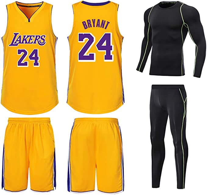 Adecuado para Kobe Bryant NO.24 Los Angeles Lakers fanáticos ...