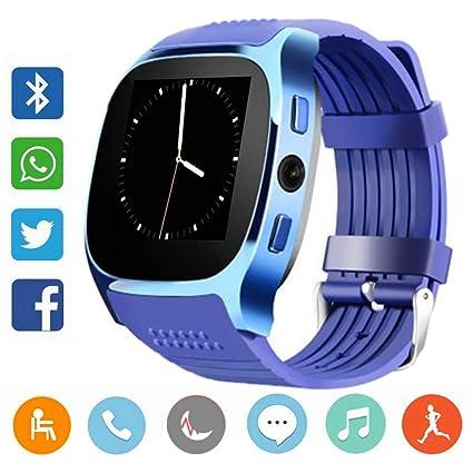 CanMixs Smartwatch CF02 es compatible con la tarjeta SIM Reloj de ...