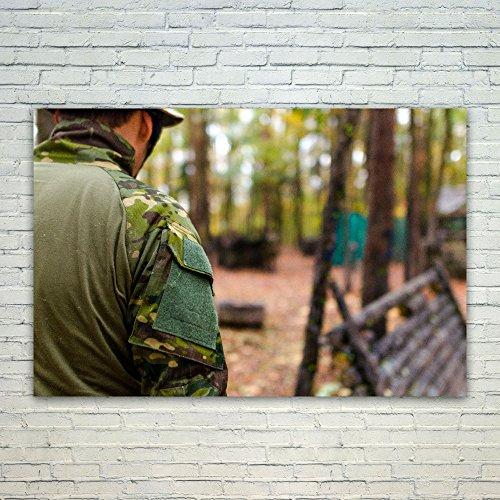 Westlake Art Poster Print Wall Art - Army Military - Modern