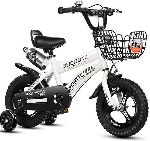 Bicicletas Eléctricas Niños Niñas De 2 A 8 Años Bebé De 12/14/16 ...
