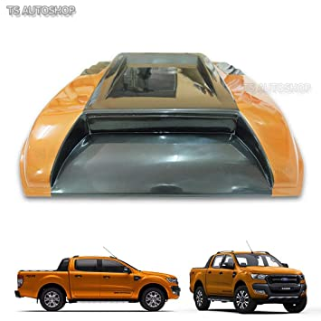 Amazon.com: Powerwarauto Front Orange Turbo Scoop Fake Cover For Ford Ranger Facelift Px2 Mk2 Wildtrak 2016 2017 2018 UTE Pick-Up: Automotive