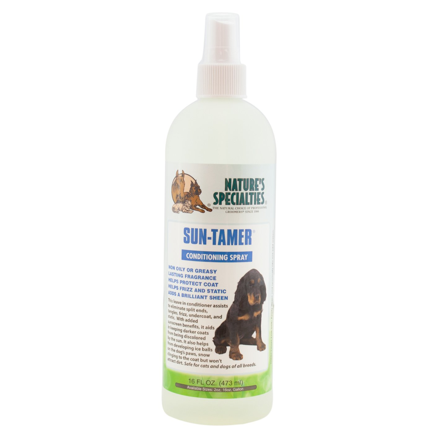 Nature's Specialties Sun Tamer Leave in Pet Conditioner with UVA/UVB, 16-Ounce by Nature's Specialties Mfg