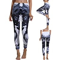 yanbirdfx The Dark Knight Print Sports Women Push Up Leggings Slim Pantalones de Yoga de Cintura Alta