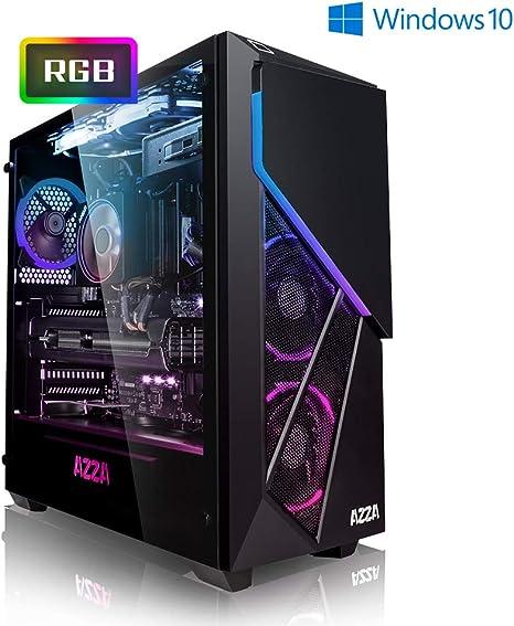 PC Gaming - Megaport Ordenador Gaming PC AMD Ryzen 7 3700X • AMD Radeon RX 5700 8GB • 1000GB HDD • 480GB SSD • 16GB DDR4 3000 • Windows 10 Home • PC Gamer: Amazon.es: Informática