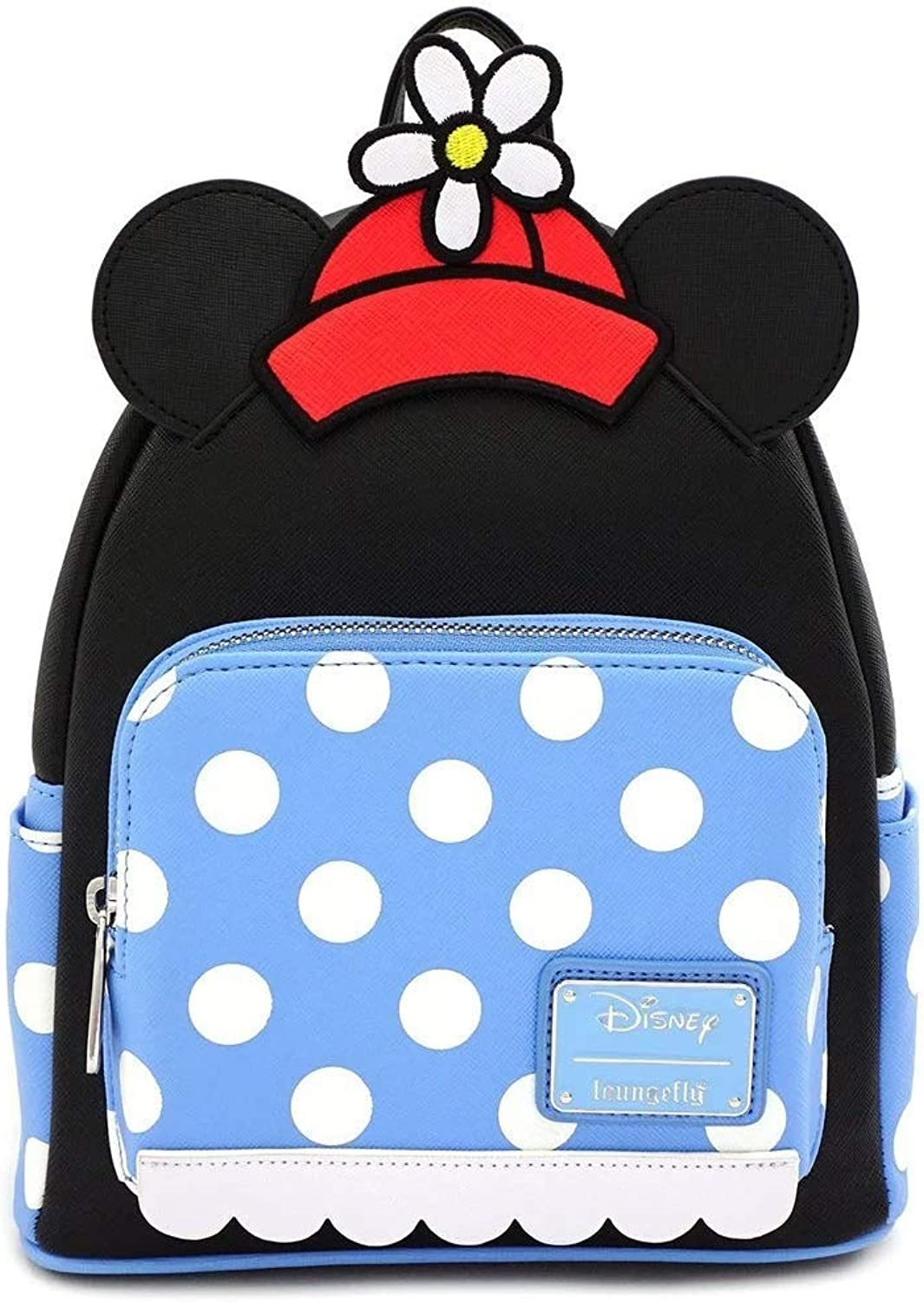 Loungefly Positively Minnie Mouse Polka Dot Mini Backpack Standard