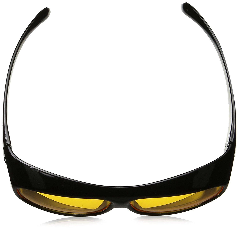 da indossare sopra agli occhiali da giorno Sovraocchiali anti-abbagliamento per guida notturna di auto e moto