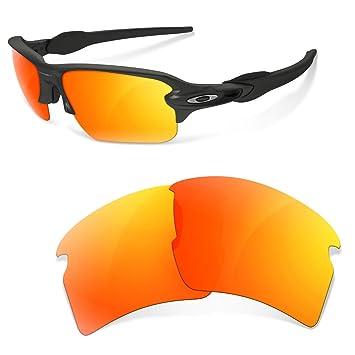 Sunglasses Restorer Lentes de Recambio Polarizadas Fire Iridium para Oakley Flak 2.0