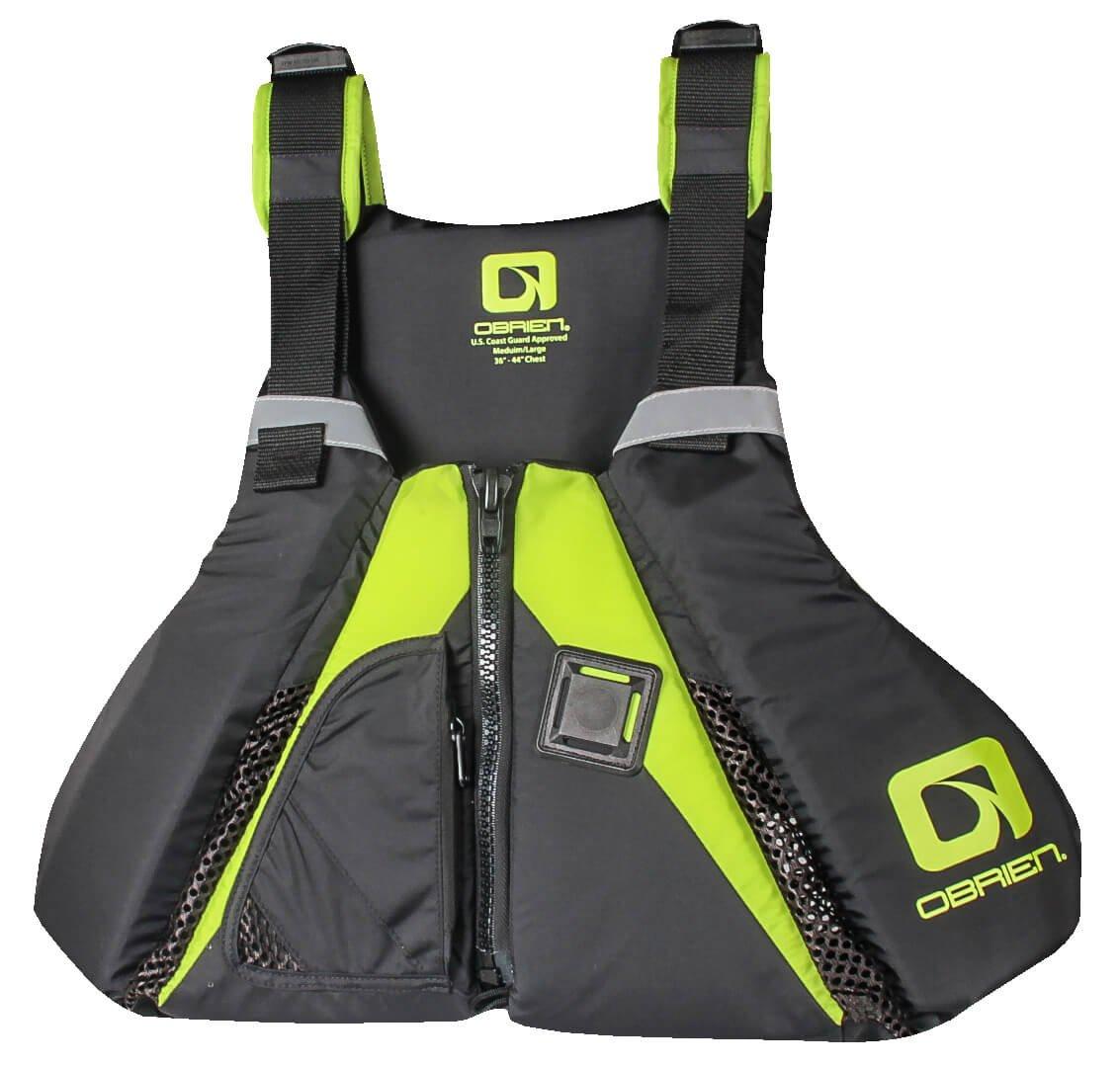 Obrien Arsenal Stand Up Paddleboard Vest XL/XXL Black/Green   B01N7WSN4S