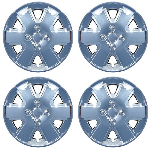 OxGord Hub-Caps for Select Ford Focus (Pack of 4) 15 Inch Silver Wheel Covers - Buy Online in UAE. | Automotive Products in the UAE - See Prices, ...