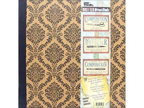 (7 gypsies Architextures 12x12 Damask Composition Book)