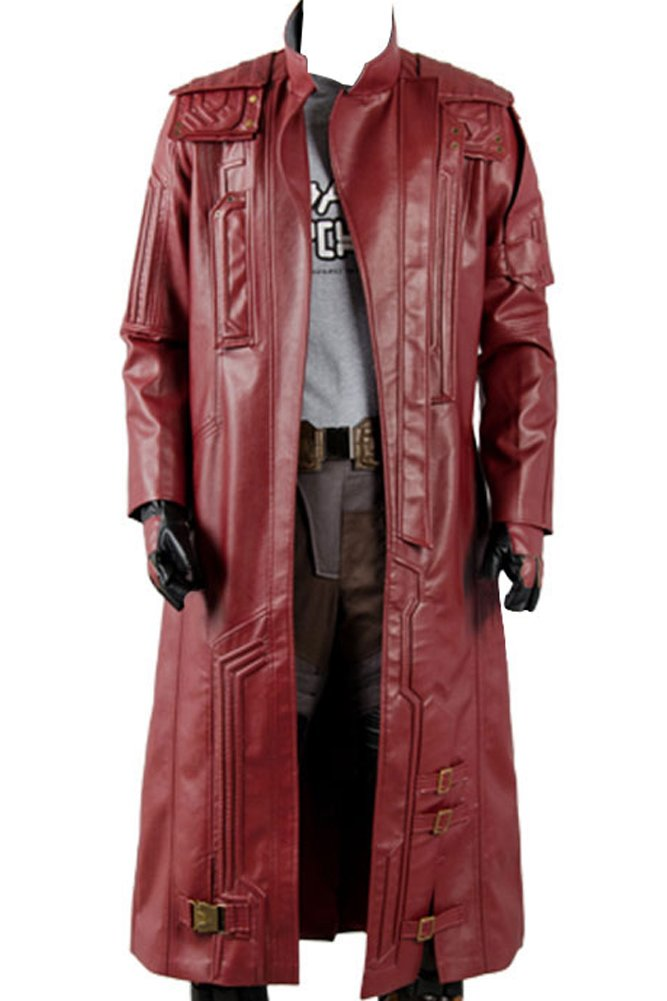 Wecos Guardians 2 Star Lord Costume Peter Jason Quill Coat XX-Large by Wecos
