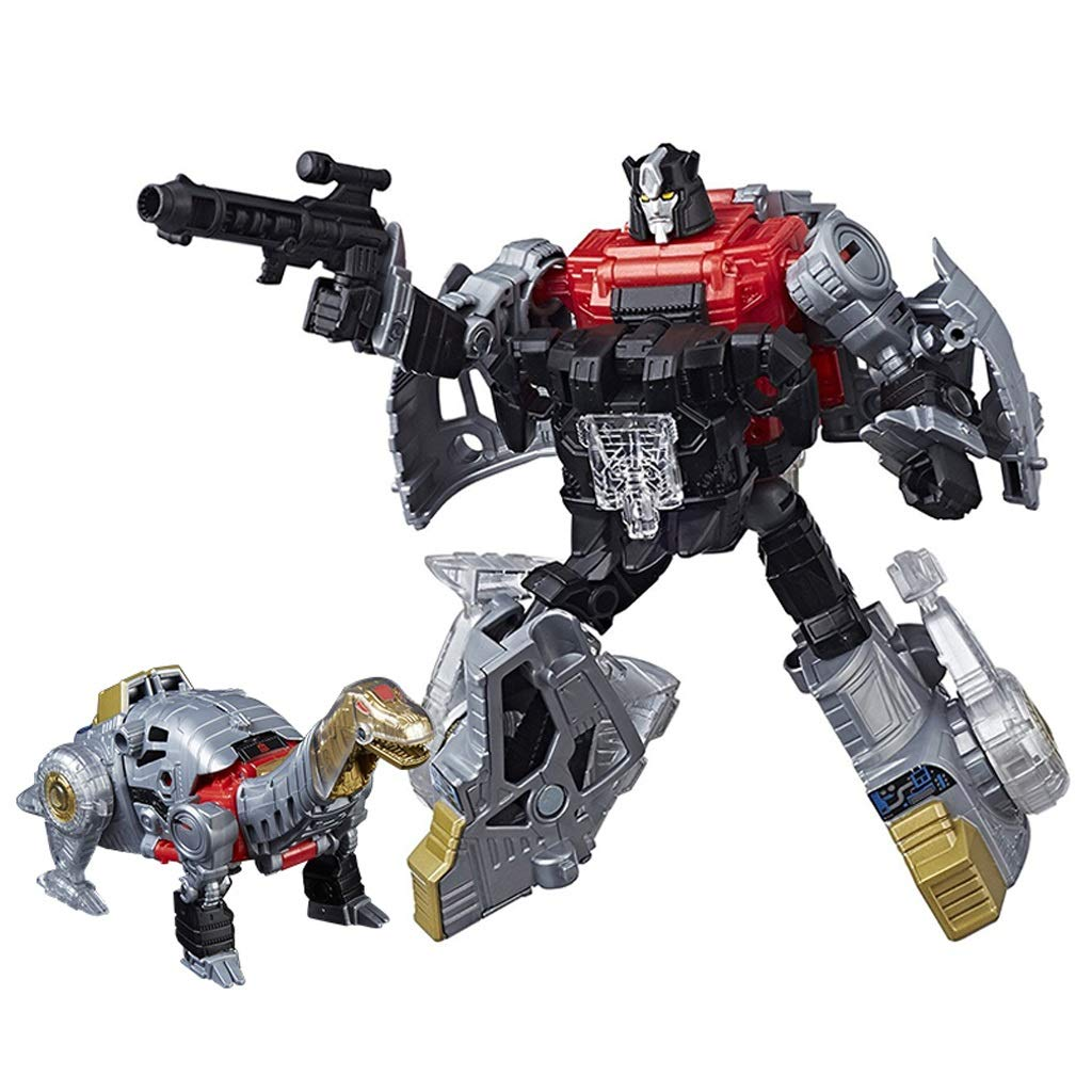 mas preferencial Siyushop Robot de deformación de Dinosaurio, Modelo de Robot de de de Combate, Robot de deformación de Dinosaurio 5 en 1, Robot de deformación Infantil, Figura de acción de Robot de Dinosaurio  descuento de ventas