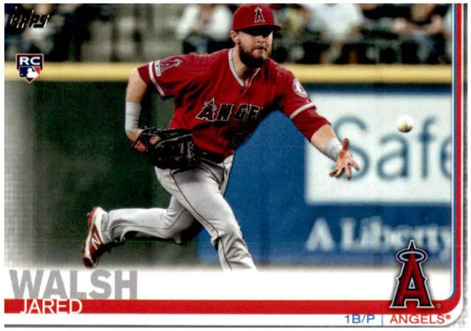 2019 Topps Update #US59 Jared Walsh NM-MT RC Rookie Los Angeles Angels Baseball