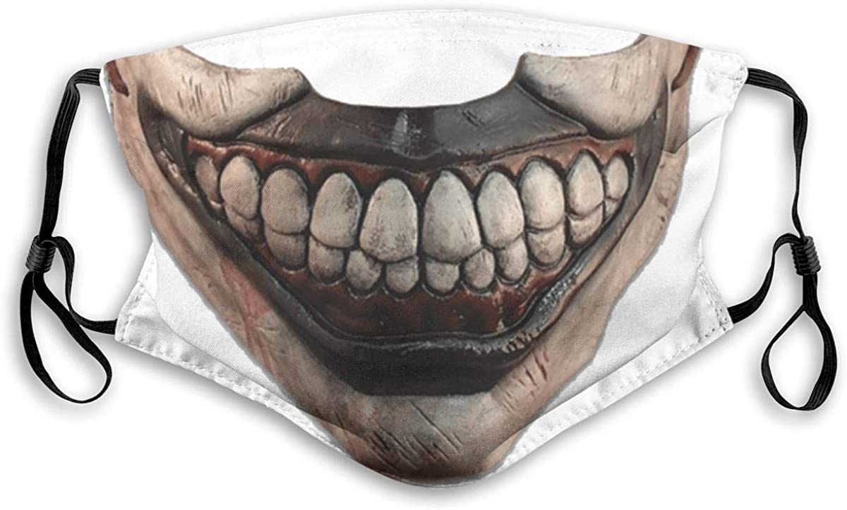 Crunchy Corn Funny Jokers Smiling Clowns Meme Lips Windproof Anti-Dust Face Comfortable Mouth Reusable for Work School