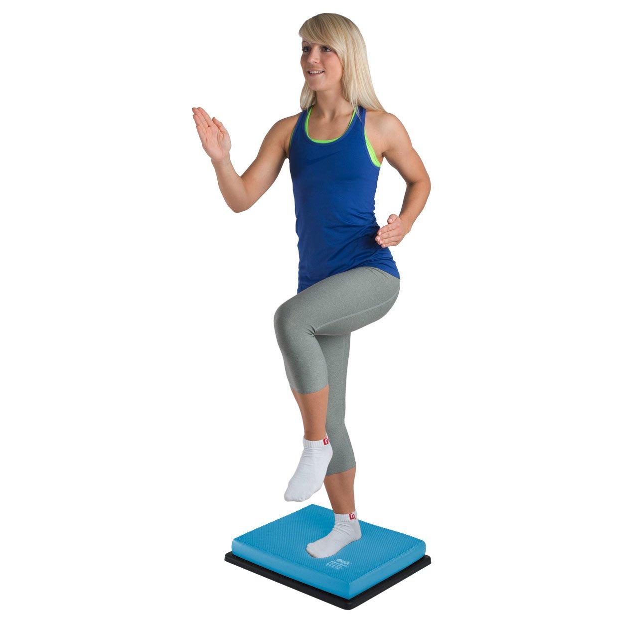 AIREX Balance Set: Balance Pad + Multishape Board, Balancetrainer, Koordination
