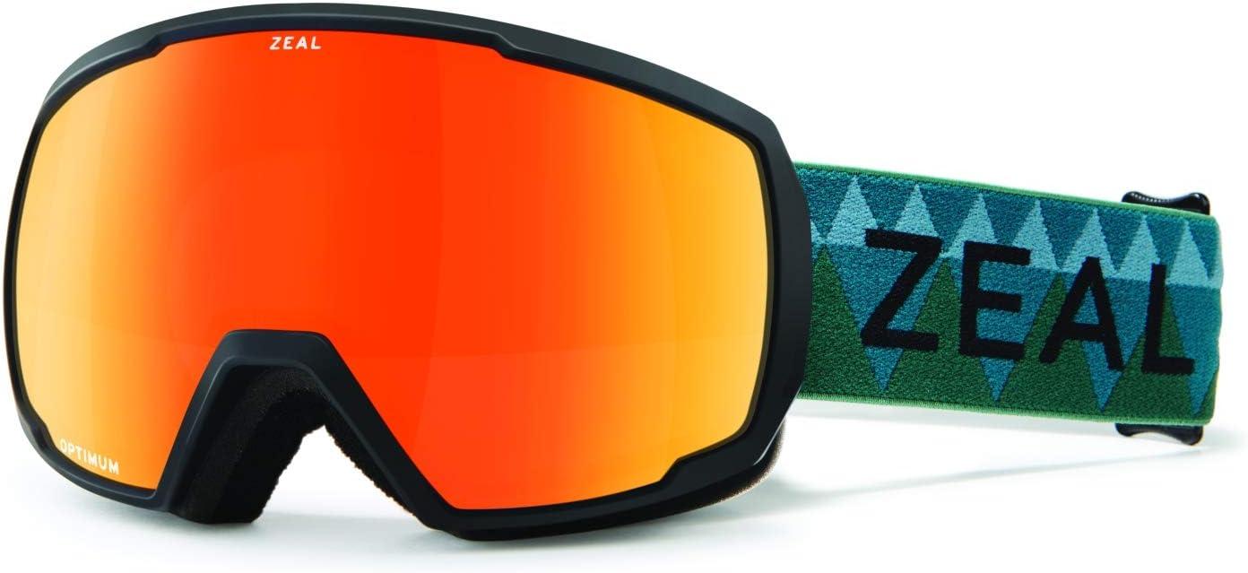 Zeal Optics ユニセックス ノマッド Pacific Moss W/ Phoenix Mirror