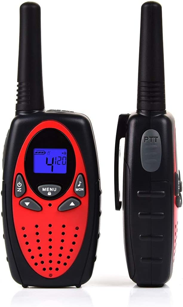 Upgrow Walkie Talkie Rechargeable Kids Walkie Talkies 2-Way Radio Toys 8 Channels Walky Talky Handheld Transceiver for Home Communication Festival Batteries and Charger Included Desert Camouflage