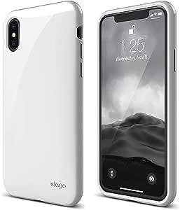 Elago Cushion Back Case for iPhone X - White