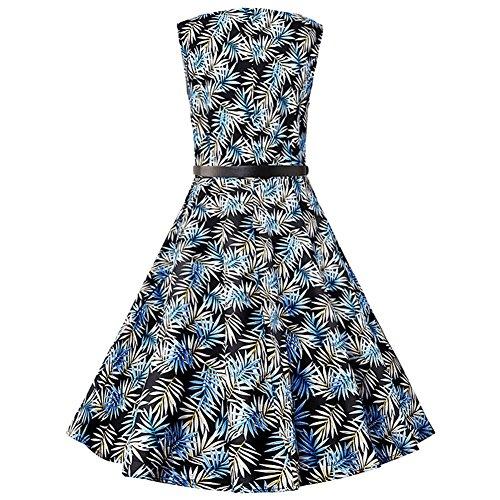 Pinkyee - Vestido - trapecio - para mujer Azul Grass
