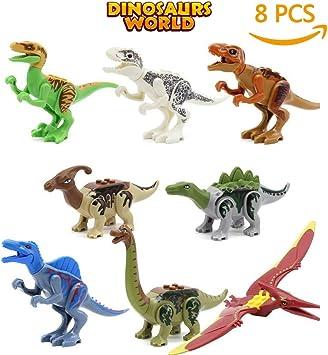 8pc Juguetes De Dinosaurios Bloques De Construccion De Dinosaurios Herbivoros Predator Mini Jurasico Predator Jurasico 3d Regalo Educativo Para Ninos B Amazon Es Juguetes Y Juegos Como muchas especies de plantas eran difíciles de digerir, para poder tener la mayor posible de energías. 8pc juguetes de dinosaurios bloques de